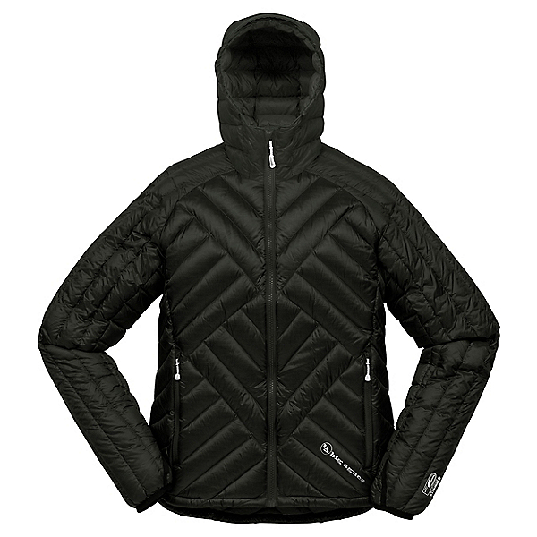 Big Agnes Shovelhead Hooded Jacket Women's, Black-Black, 600
