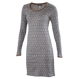 Ibex Juliet Annis Dress Women's, Dashing-Stone Grey Heather, 256