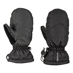Marmot Girls Glade Mitt, Black, 256