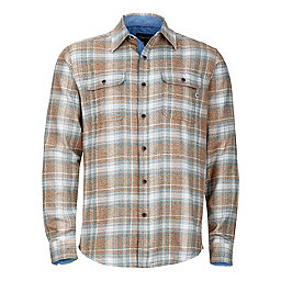 Marmot Jasper Flannel LS, Dark Maple, 256