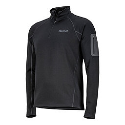 Marmot Stretch Fleece 1/2 Zip, Black, 256