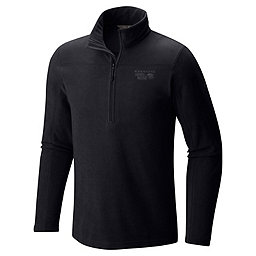 Mountain Hardwear Microchill 2.0 Zip T, Black, 256