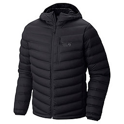 Mountain Hardwear StretchDown Hooded Jacket, Black, 256