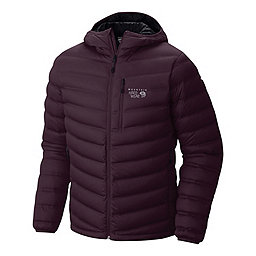 Mountain Hardwear StretchDown Hooded Jacket, Eggplant, 256