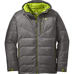 Outdoor Research Floodlight Jacket, Pewter-Lemongrass, 256
