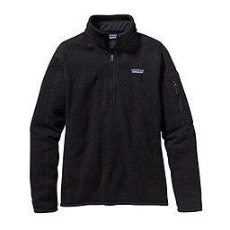 Patagonia Better Sweater 1/4 Zip Women's, Black, 256