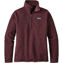 Patagonia Better Sweater 1/4 Zip Women's, Dark Ruby, 256