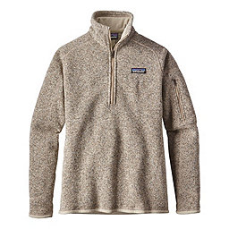 Patagonia Better Sweater 1/4 Zip Women's, Pelican, 256