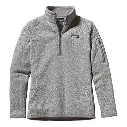 Patagonia Better Sweater 1/4 Zip Women's, Birch White, 256