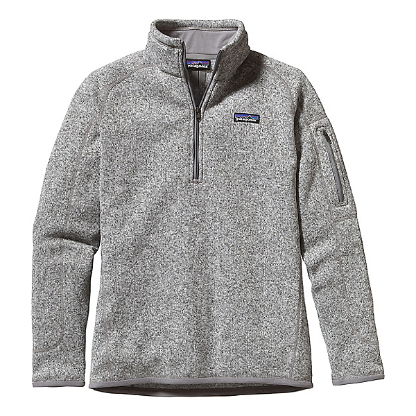 Patagonia Better Sweater 1/4 Zip Women's, Birch White, 600