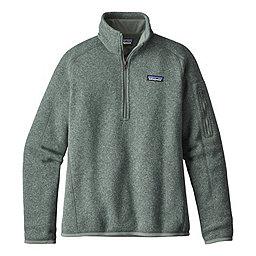 Patagonia Better Sweater 1/4 Zip Women's, Hemlock Green, 256