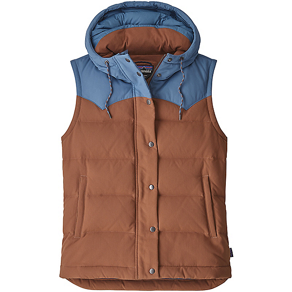Patagonia Bivy Hooded Vest Women's - LG/Sisu Brown, Sisu Brown, 600