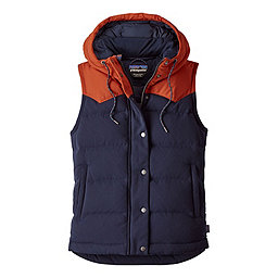 Patagonia Bivy Hooded Vest Women's, Navy Blue, 256