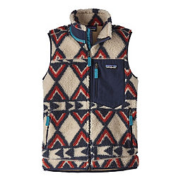 Patagonia Classic Retro-X Vest Women's, Brass Hawk Smolder Blue, 256