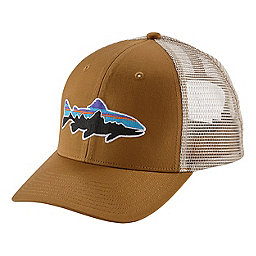 Patagonia Fitz Roy Trout Trucker Hat, Bear Brown, 256