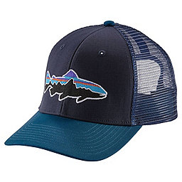 Patagonia Fitz Roy Trout Trucker Hat, Navy Blue, 256