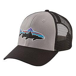 Patagonia Fitz Roy Trout Trucker Hat, Drifter Grey-Black, 256