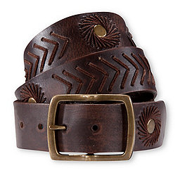 Pistil Fontaine Belt, Brown, 256