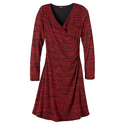 prAna Nadia Dress Women's, Sunwashed Red, 256