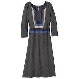 prAna Yarrah Dress Women's, Charcoal, 256