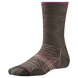 Smartwool PhD Outdoor Light Crew Women's, Taupe, 256