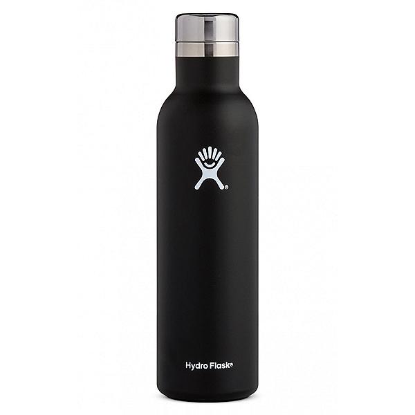 Hydro Flask 25 oz Wine Bottle, Black, 600