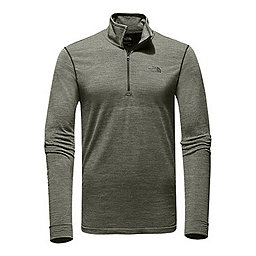 The North Face LS Eng Wool 1/4 Zip, Rosin Green White Heather, 256