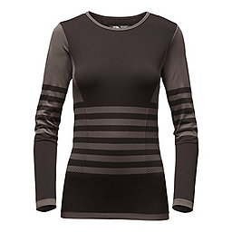 The North Face Secondskin LS Top Women's, Graphite Grey-TNF Black, 256