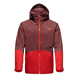 The North Face Sickline Insulated Jacket, Hot Chocolate Brown-Fiery Red, 256