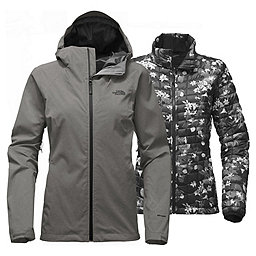 The North Face Thermoball Triclim Jacket Women's, TNF Medium Grey Heather, 256