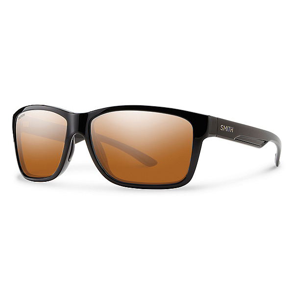 Smith Drake Sunglasses, Blk-Plrchrom Cpr Mrr Tchlt Gls, 600