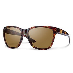 Smith Ramona Sunglasses, Tort-Polarized Brown Carbonic, 256