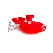 GSI Outdoors Cascadian 1 Person Table Set - Red, , medium