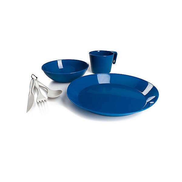GSI Outdoors Cascadian 1 Person Table Set - Blue, , 600