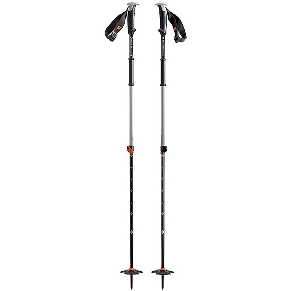 Black Diamond Traverse Ski Poles, Vibrant Orange, 600