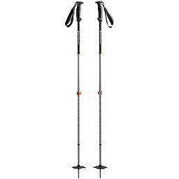 Black Diamond Traverse Pro Ski Poles, Vibrant Orange, 256