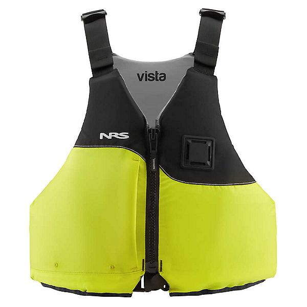 NRS Vista Life Jacket 2021 - PFD Lime - L-XL, Lime, 600