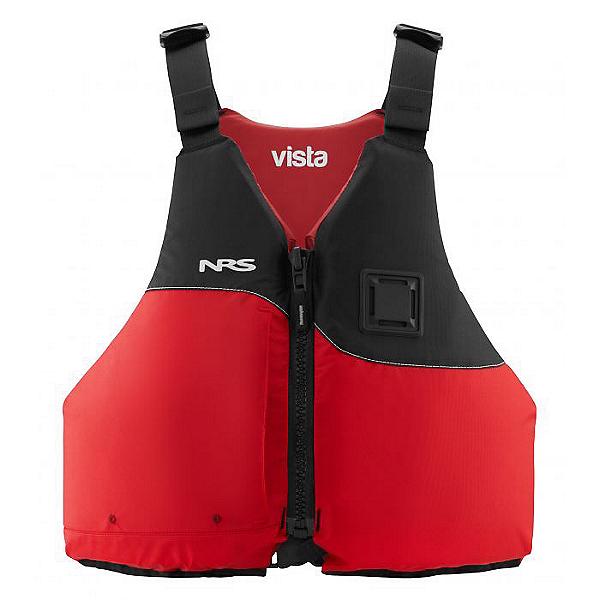NRS Vista Life Jacket - PFD Red - L-XL, Red, 600