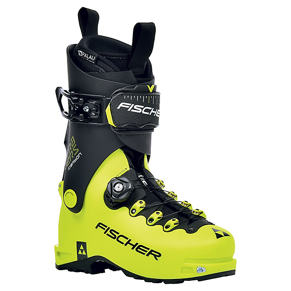 Fischer Skis Travers Carbon Ski Boot - 26.5/Yellow-Black, Yellow-Black, 600