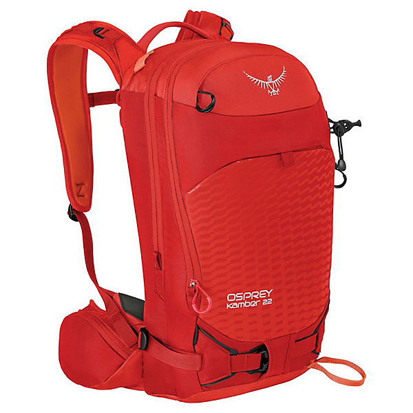 Osprey Kamber 22 Backpack - M-LG/Ripcord Red, Ripcord Red, 600