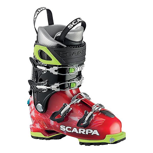 Scarpa Freedom SL 120 Ski Boot Women's - 25.5/Scarlet-White, Scarlet-White, 600