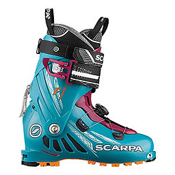 Scarpa F1 Ski Boot Women's, Arctic Blue-Purple, 256