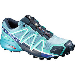 Salomon Speedcross 4 CS Women's, Blue Gum-Bubble Blue-Deep Blue, 256