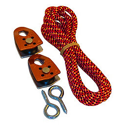 Trango Rock Prodigy Pulley Kit, Orange, 256