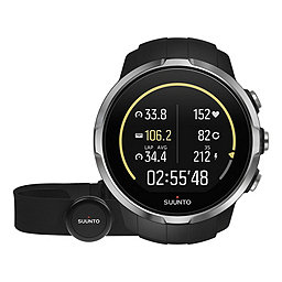 Suunto Spartan Sport, Black w-Chest HR, 256