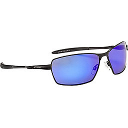 Optic Nerve Axel Sunglasses, Flash Black-Pol Smk w-Blu Zaio, 256
