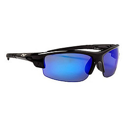 Optic Nerve Amino Sunglasses, Shiny Black w-Black Tips, 256