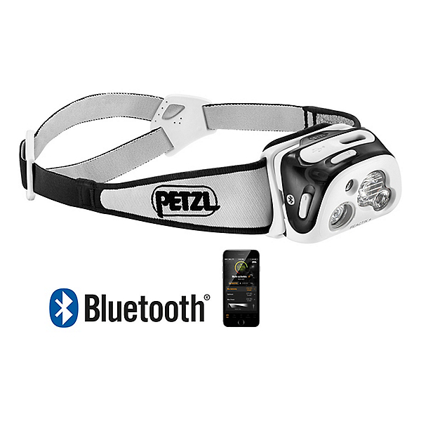 Petzl Reactik+ with Bluetooth - Black, Black, 600