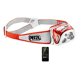 Petzl Reactik+ with Bluetooth, Orange, 256