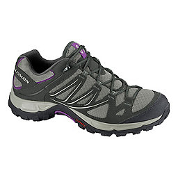 Salomon Ellipse Aero Women's, Titanium-Asphalt-Purple, 256